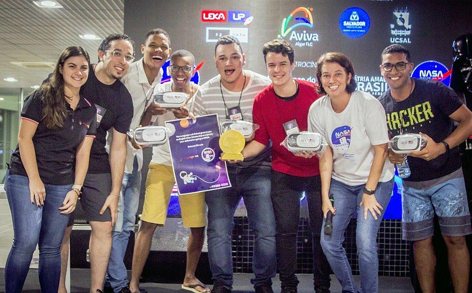 Grupo com alunos da UFBA vence competição internacional de inovação promovida pela Nasa